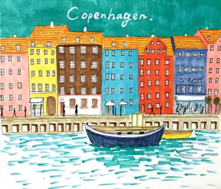 土屋友紀(基礎科)「Copenhagen」